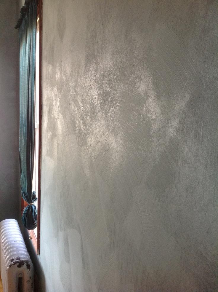 Our Walls Sherwin Williams Faux Impressions Brushed Quartz Stone In Moody Blue Quartz SWF 218