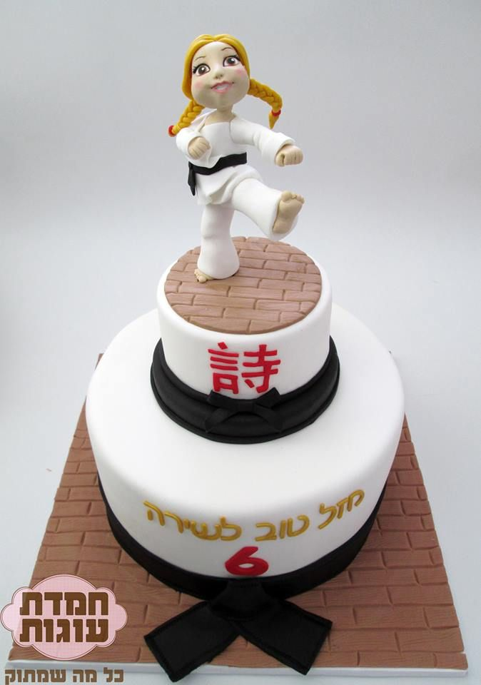 17 Best Ideas About Karate Cake On Pinterest Karate