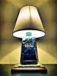 Tequila 1800 Liquor Bottle Lamp | The Spirit Lamp Co ...