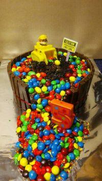 Paw Patrol kit kat m&m rubble cake | Cakes | Pinterest ...