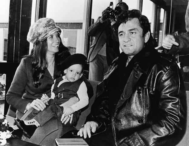 Johnny Cash and June Carter Cash: