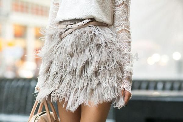 1000+ Ideas About Feather Dress On Pinterest