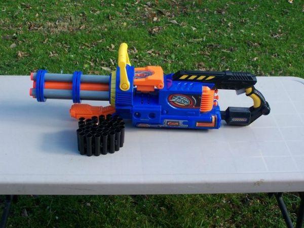 Nerf Gatling Gun Related Keywords Nerf Gatling Gun Long