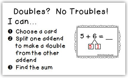 17 Best ideas about Doubles Addition on Pinterest