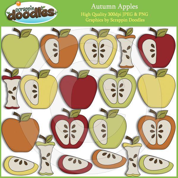 clipart pommes