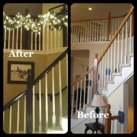 Refinished staircase banister. | For the Home | Pinterest ...