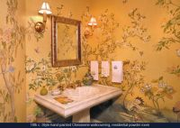 16 best images about Handpainted Wallpapers & Murals on ...