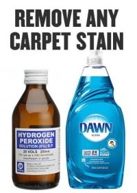 Diy carpet, Carpet cleaners and Hydrogen peroxide on Pinterest