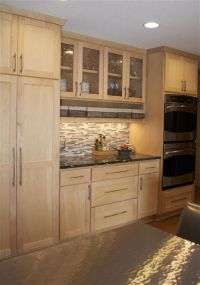 1000+ ideas about Light Wood Cabinets on Pinterest