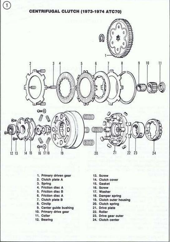 honda dream 100cc engine diagram
