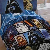 STAR WARS 4PC TWIN BEDDING SET, Comforter, 3pc sheet set ...