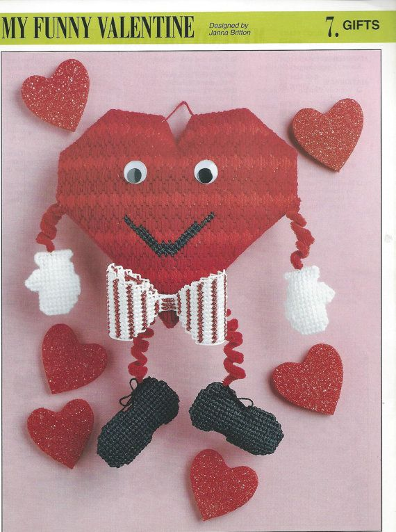 My Funny Valentine Plastic Canvas Pattern By