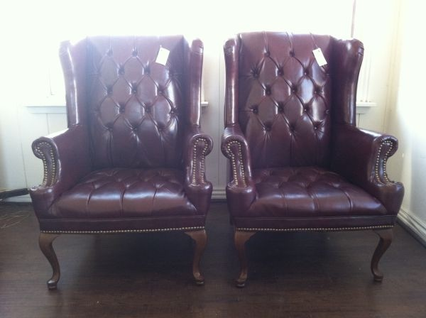 29 Best Images About English Leather Chairs On Pinterest
