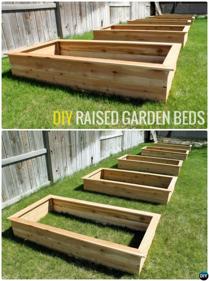 25 Best Ideas About Raised Garden Bed Plans On Pinterest Raised