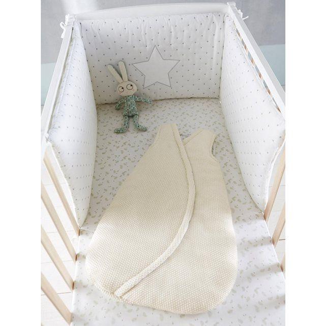 tour de lit bebe theme ciel detoiles vertbaudet