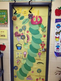 The Very Hungry Caterpillar Classroom door :D | Very ...
