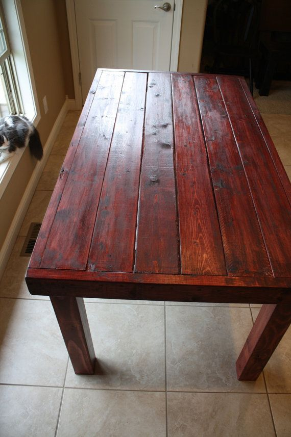 62 best images about Kitchen Tables on Pinterest Rustic