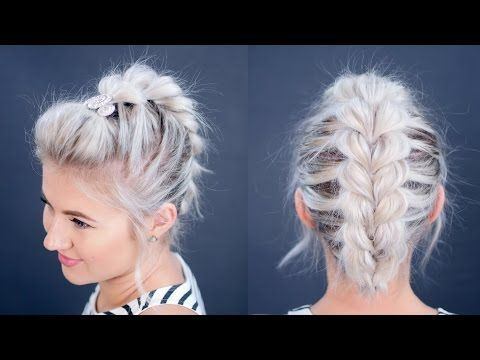 25 Best Ideas About Short Hair Tutorials On Pinterest