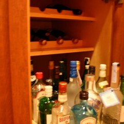 Kitchen Island Carts Curtains For Sale Roll-out And Inserts Bottle Storage In A Liquor ...