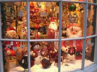 Christmas Window Decorating Contest - Halloween Costume Ideas