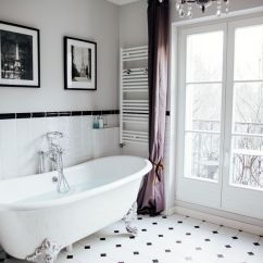 Modern White Living Rooms Storage Room Table The Most Beautiful Bathtub Overlooking Eiffel Tower ...