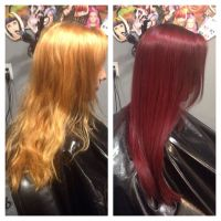 Wella Red Hair Color   search results for wella dark brown ...