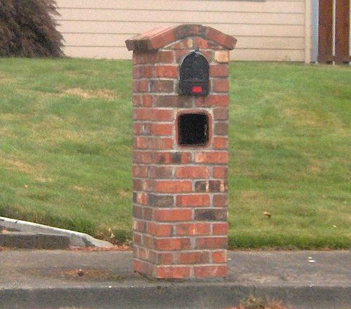 How Much Does a Brick Mailbox Cost  HowMuchIsItorg  landscape ideas  Pinterest  Brick