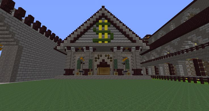 Minecraft House Ideas Xbox 360 This Is The New Bank For Our