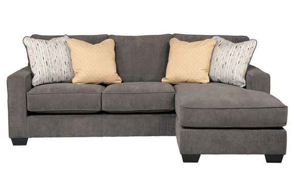 Sofa with attached chaise  New house ideas  Pinterest  Sofas