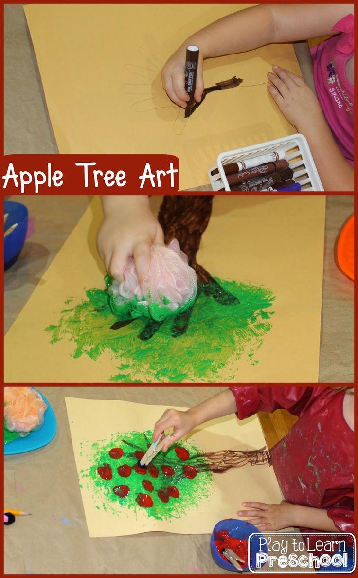 17 best ideas about Apple Art Projects on Pinterest