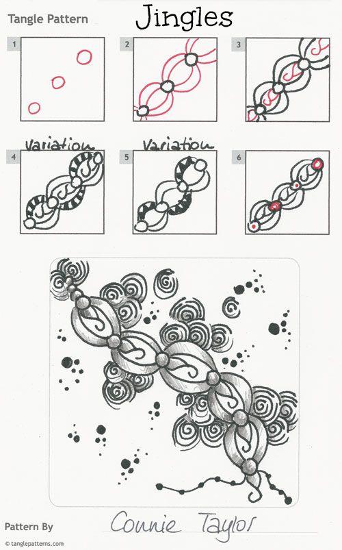 Top 2494 ideas about Zentangle Patterns on Pinterest