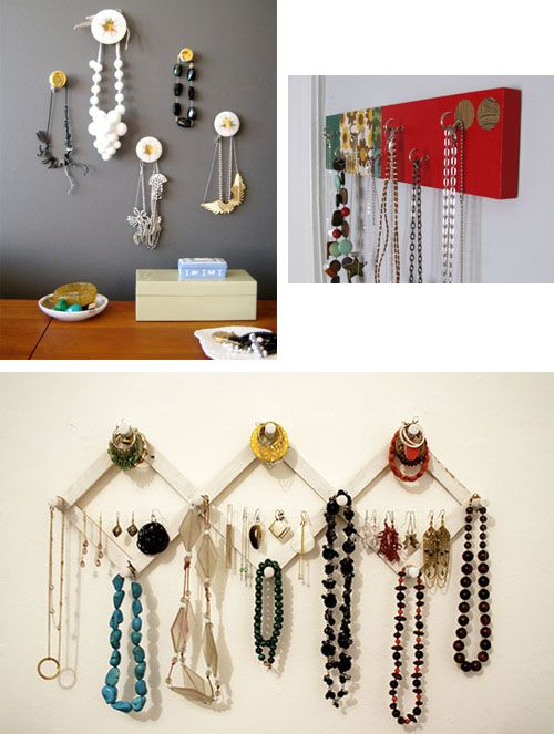 22 Best Images About DIY Jewelry WallHangerStand On