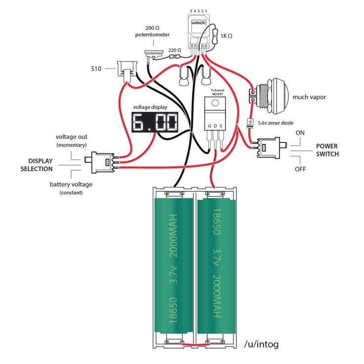 Series Box Mod Wiring Diagram Get Free Image About Wiring Diagram