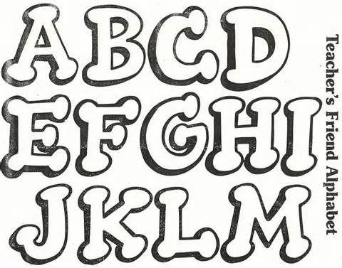 Diferentes Tipos De Letras Graffiti Abecedario Graffiti