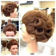 editorial-inspired creative updo