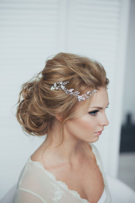 25 best ideas about Bridal hairpiece  on Pinterest