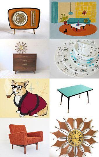 25 Best Ideas About Atomic Decor On Pinterest Midcentury Wall