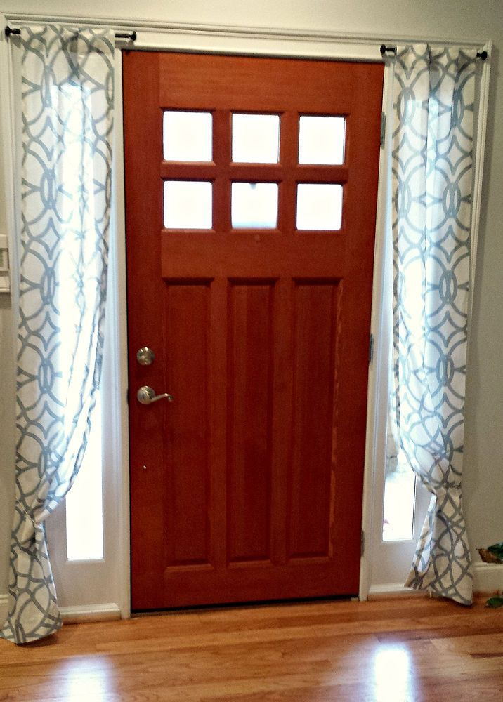 25 Best Ideas About Door Panel Curtains On Pinterest Curtains