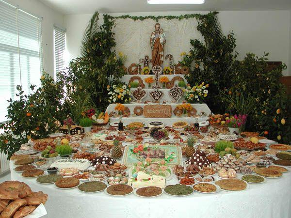 324 best images about St Joseph Table on Pinterest