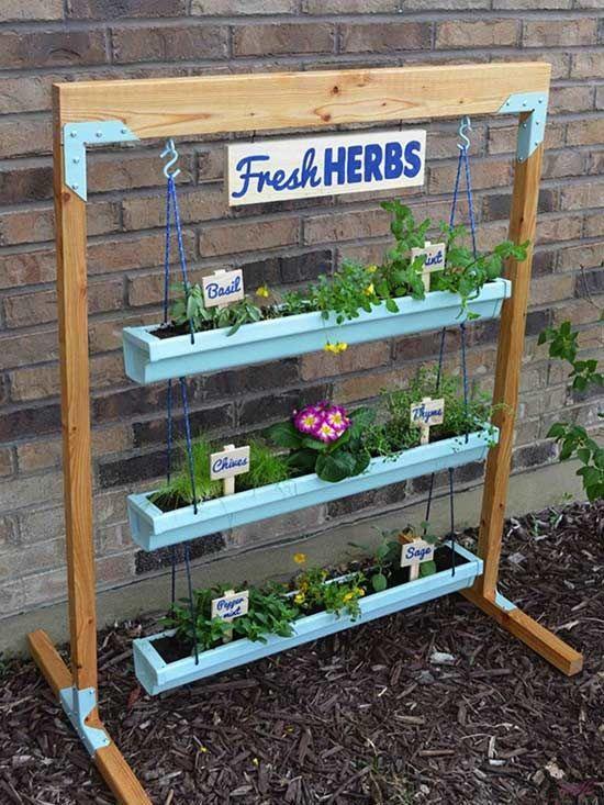 25 Best Ideas About Vertical Herb Gardens On Pinterest Herb