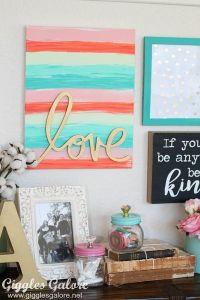 Best 25+ Canvas word art ideas on Pinterest ...