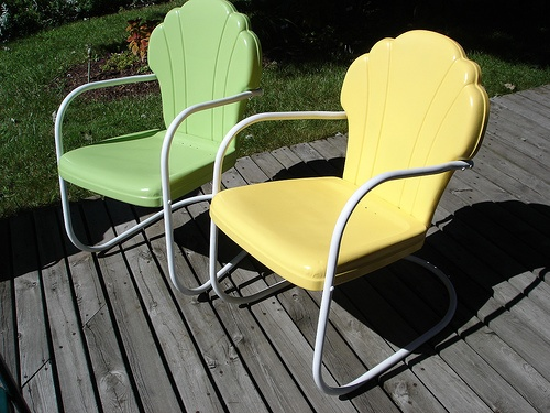 retro metal yard chairs seat warmer for office chair 38 best images about lawn on pinterest | chairs, metals and outdoor