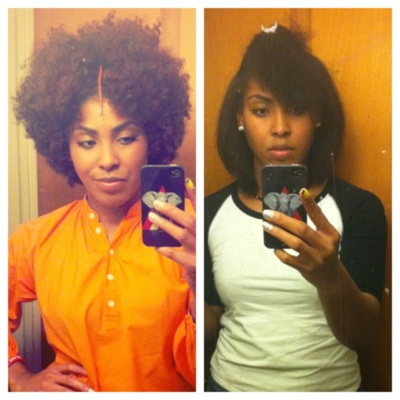 25 Best Ideas About Naturally Straighten Hair On Pinterest Hair