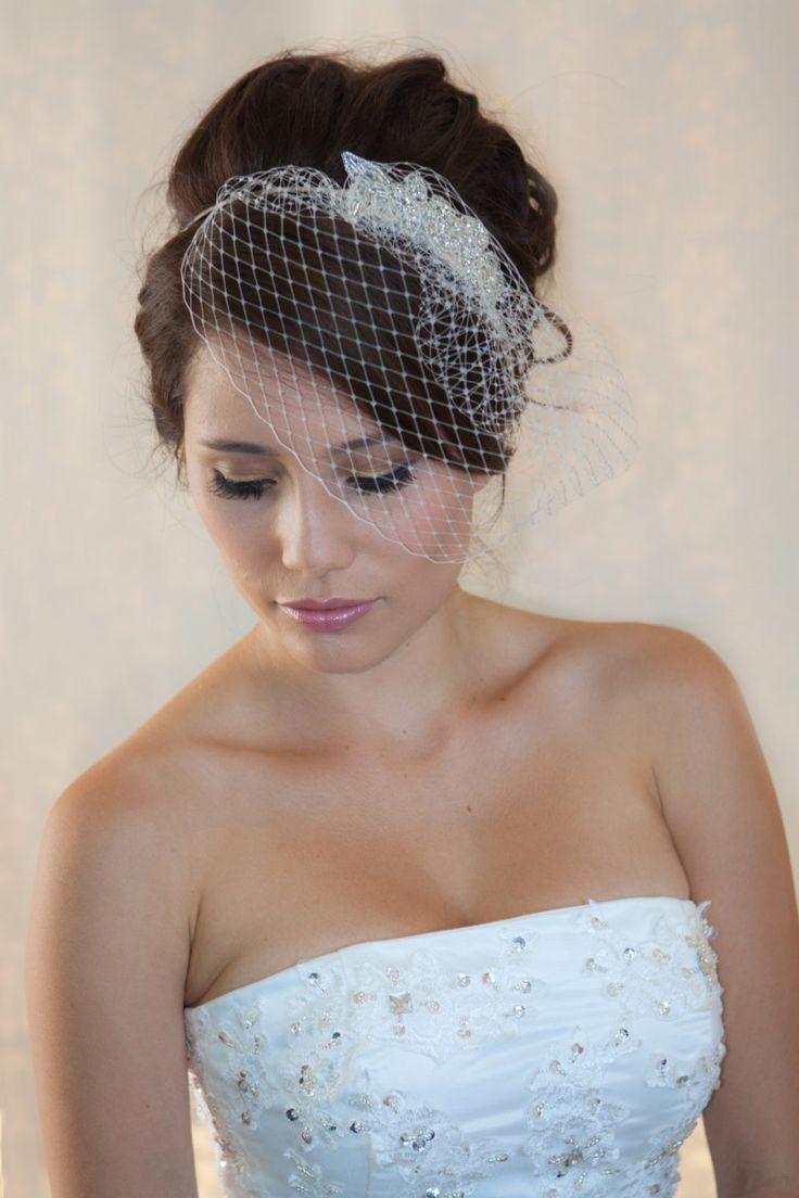 25 Best Ideas About Birdcage Veil Hair On Pinterest Wedding