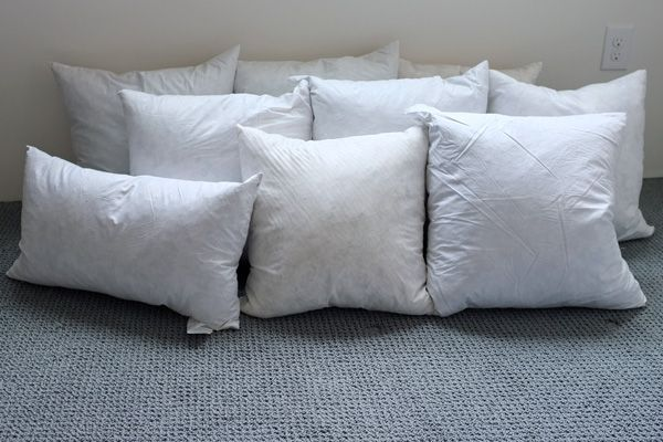 25 best ideas about Feather Pillows on Pinterest
