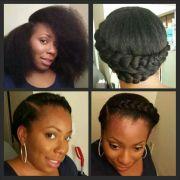 goddess braid natural hair styles
