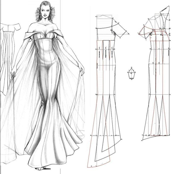 25+ Best Ideas about Mermaid Dress Pattern on Pinterest