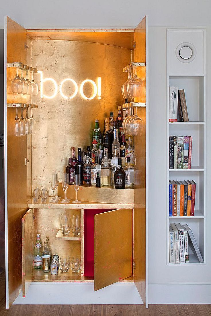 17 Best ideas about Small Home Bars on Pinterest  Small