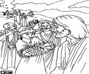 Cud rozmnożenia chleba i ryb Jezus zdołał pasz 5000 osób z