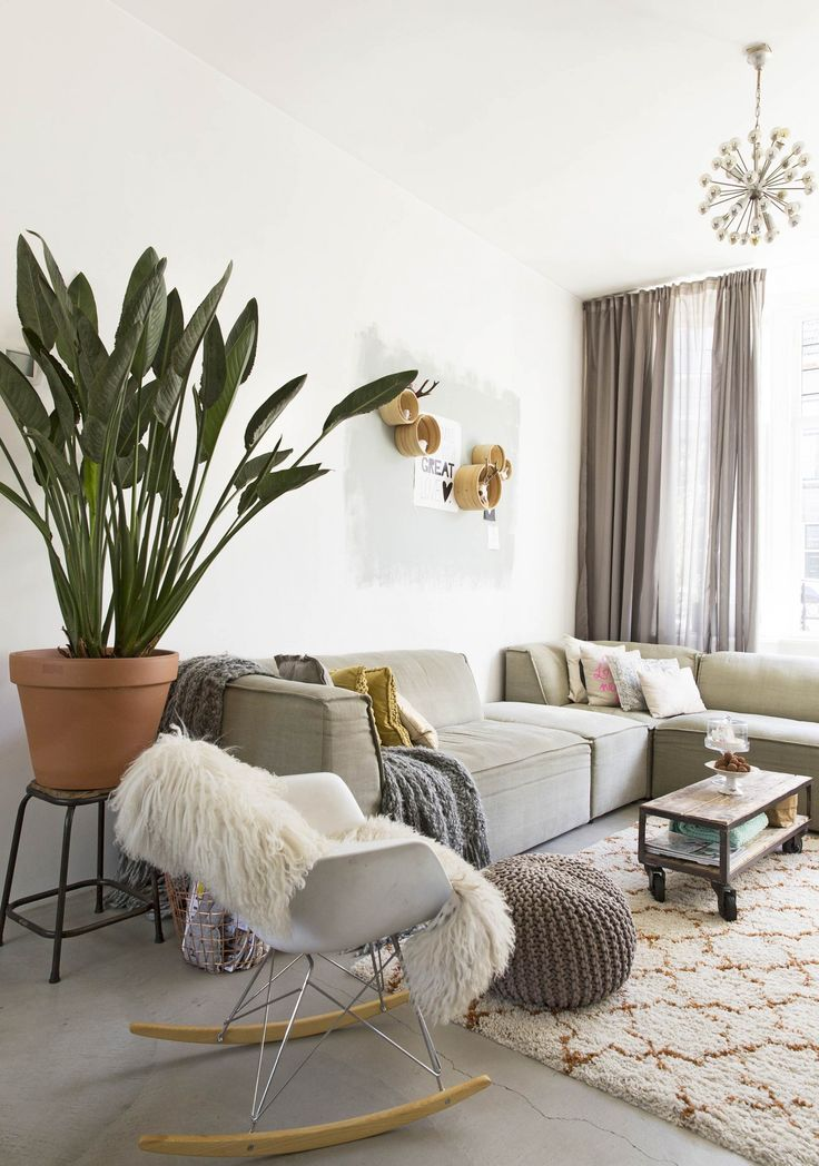 78 Best ideas about Natural Living Rooms on Pinterest